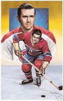 "Maurice ""Rocket"" Richard Legends of Hockey Card #3"
