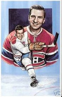 "Bernard ""Boom Boom"" Geoffrion Legends of Hockey Card #5"