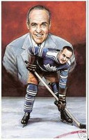"F.M. ""King"" Clancy Legends of Hockey Card #8"