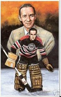 "Emile ""Cat"" Francis Legends of Hockey Card #10"