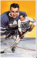 Charlie Conacher Legends of Hockey Card #14