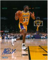 Magic Johnson Autographed LA Lakers 8x10 Photo #5 - Action