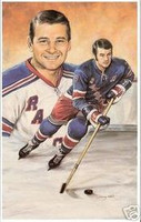 Rod Gilbert Legends of Hockey Card #61