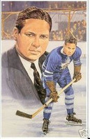"George ""Red"" Horner Legends of Hockey Card #68"