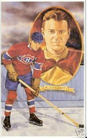 Aurel Emile Joliat Legends of Hockey Card #71