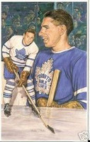 Max Bentley Legends of Hockey Card #84