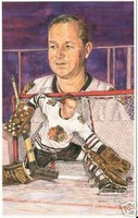 Glenn Hall Legends of Hockey Card #88