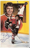 Bobby Clarke Autographed Legends of Hockey Card