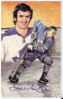 Dave Keon Autographed Legends of Hockey Card