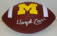 Lloyd Carr Autographed Football