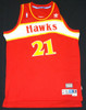 Dominique Wilkins Autographed Atlanta Hawks Jersey