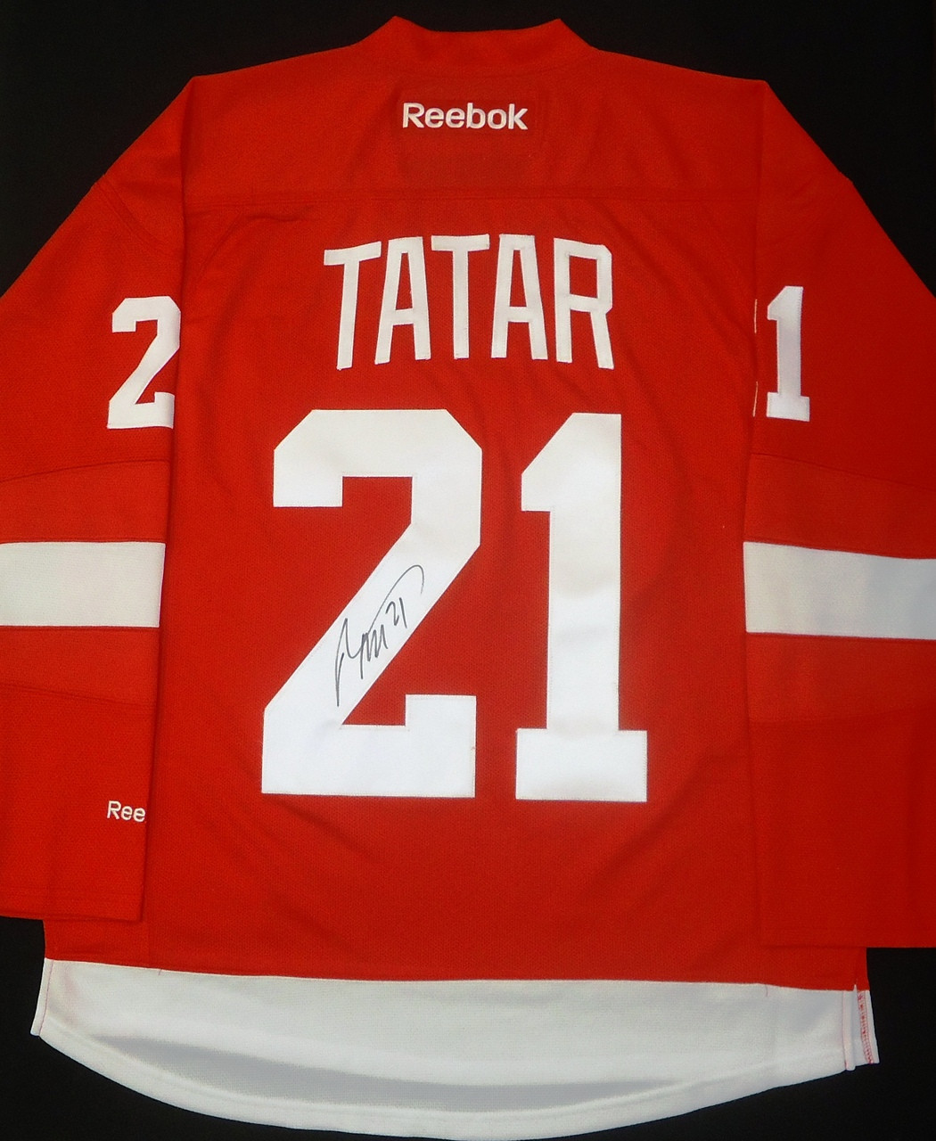 Tomas Tatar Autographed Detroit Red Wings Home Jersey Detroit City Sports
