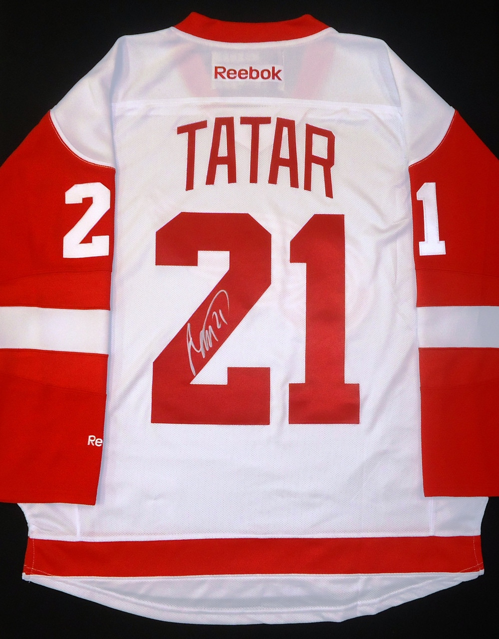 Tomas Tatar Autographed Detroit Red Wings Road Jersey Detroit City Sports