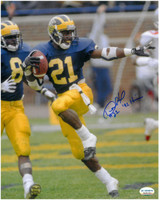 Desmond Howard Autographed Heisman Pose Photo