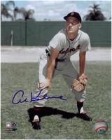 Al Kaline Autographed 8x10 Photo #1 - 1950's Fielding (Pre-Order)