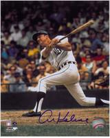 Al Kaline Autographed 8x10 Photo #4 - 1970's Batting (Pre-Order)