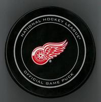 """Steve Yzerman Autographed Detroit Red Wings Game Puck - Inscribed """"HOF 09"""" (Pre-Order)"""