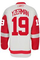 Steve Yzerman Autographed Detroit Red Wings White Jersey - HOF 09 Inscription (Pre-Order)