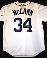 James McCann Autographed Detroit Tigers Jersey