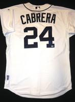 Miguel Cabrera Game Used Jersey