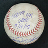 Miguel Cabrera Game Used 400 Home Run Baseball