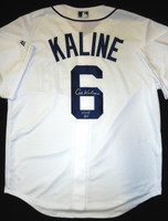 Al Kaline Autographed Detroit Tigers Home Jersey