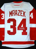 Petr Mrazek Autographed Detroit Red Wings Jersey