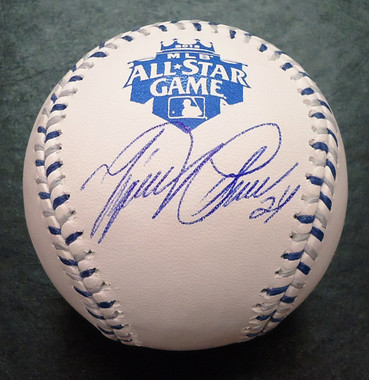 Miguel Cabrera Autographed 2012 All Star Baseball