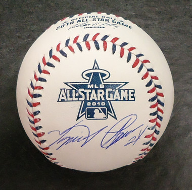 Miguel Cabrera Autographed 2010 All Star Baseball