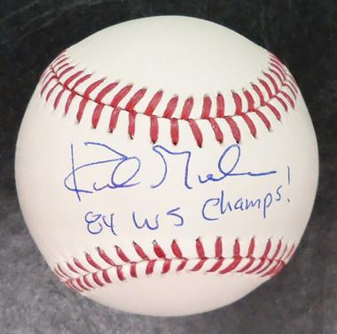 "Kirk Gibson Autographed Baseball ""84 WS Champs"""