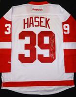 Dominik Hasek Autographed Detroit Red Wings Jersey
