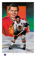 Stan Mikita Autographed Lithograph