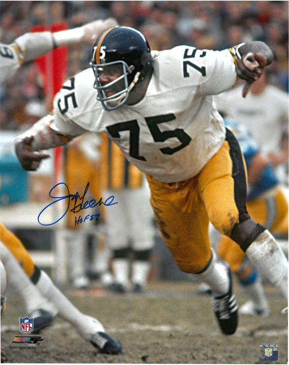 daf38608a90 ... Joe Greene Autographed Pittsburgh Steelers 16x20 Photo  1. Loading zoom