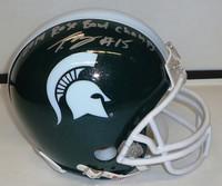 Trae Waynes Autographed MSU Spartans Helmet