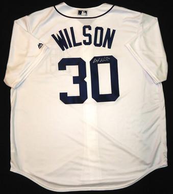 Alex Wilson Autographed Jersey