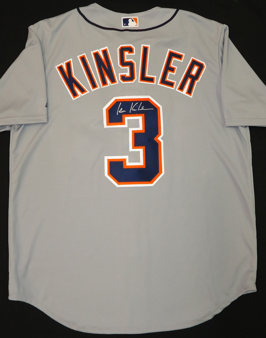 new style 3f96f a58dd Ian Kinsler Autographed Detroit Tigers Road Jersey