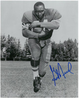 George Reed Autographed Saskatchewan Roughriders 8x10 Photo #1