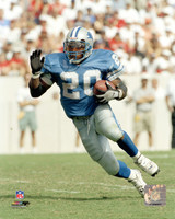 Barry Sanders Autographed 16x20 Photo #2 - Blue Jersey Action (Pre-Order)
