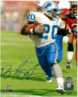 Barry Sanders Autographed Photo