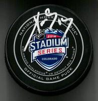 Pavel Datsyuk Autographed Hockey Puck