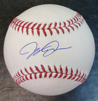 JaCoby Jones Autographed Baseball