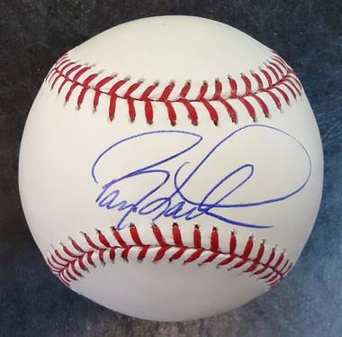 Barry Larkin Autographed Baseball