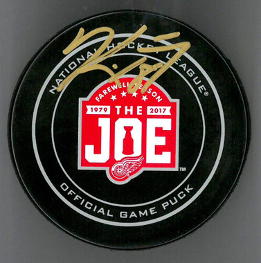 Kirk Maltby Autographed Farewell to the Joe 2016/17 Season Official Game Puck