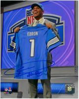 Eric Ebron Autographed Detroit Lions 8x10 #5 - 1st Round Pick