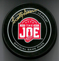 Scotty Bowman Autographed Farewell to the Joe Official Game Puck