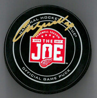 Chris Osgood Autographed Farewell to the Joe Official Game Puck