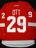 Steve Ott Autographed Detroit Red Wings Home Jersey
