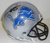 Eric Ebron Autographed Detroit Lions Mini Helmet