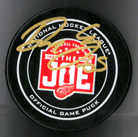 Danny DeKeyser Autographed Farewell to the Joe Official Game Puck
