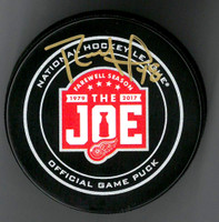 Ryan Sproul Autographed Farewell to the Joe Official Game Puck